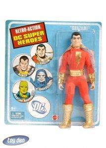 DC SUPERHEROES RETRO SHAZAM ACTION FIGURE