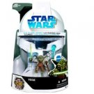 STAR WARS - CLONE WARS 4 inch YODA ACTION FIGURE