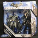 BATMAN ARKHAM CITY - BATMAN & CATWOMAN 2 PACK ACTION FIGURE SET