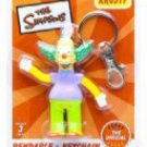 SIMPSONS - KRUSTY THE KLOWN BENDABLE POSEABLE  KEYCHAIN
