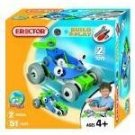 Erector Build and Play Racer Set with 51 Pieces
