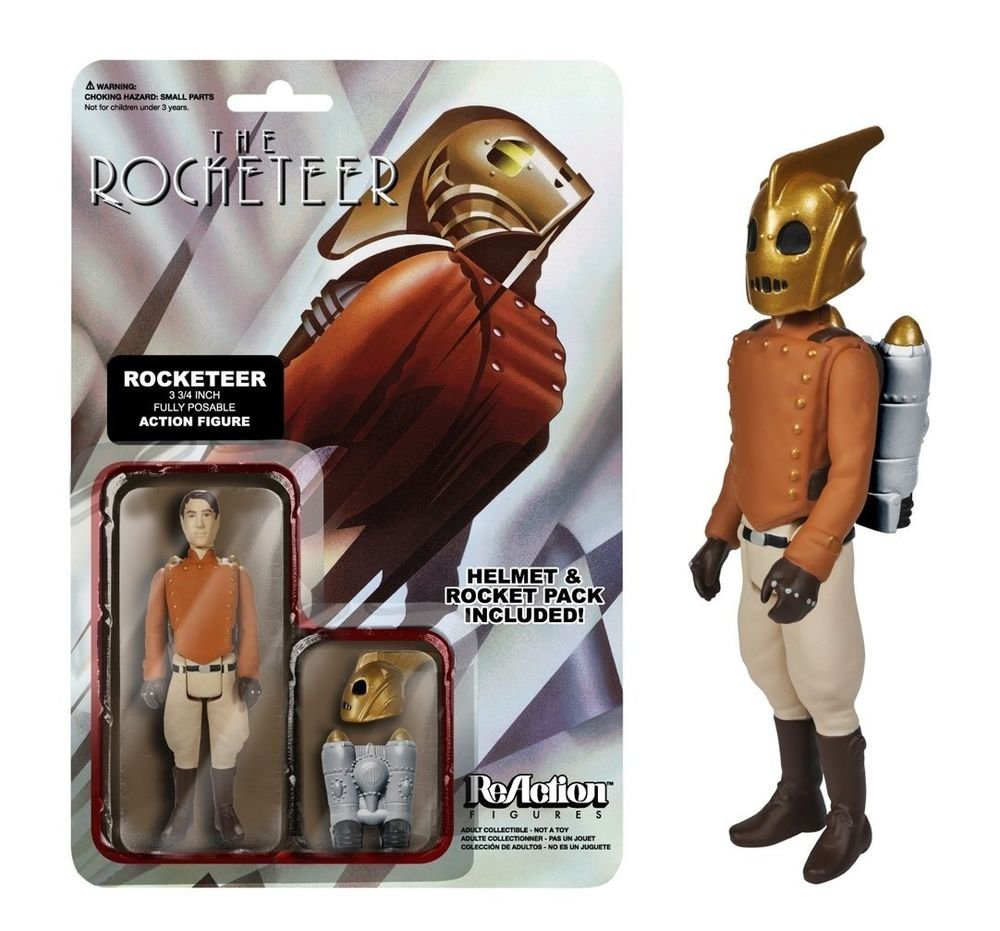 "ROCKETEER REACTION RETRO LOOK 3 3/4"" FIGURE"