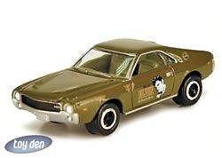 ELVIS PRESLEY ROCK ART SERIES 2 JOHNNY LIGHTNING  AMC AMX DIE-CAST CAR