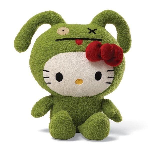 "HELLO KITTY - OX 7"" UGLYDOLL PLUSH"