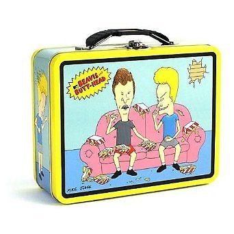 Beavis and Butthead Classroom  Metal Carryall Lunchbox by Tin Box Co