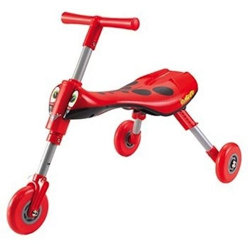 SCUTTLEBUG LADYBUG RED FOLDING TRICYCLE