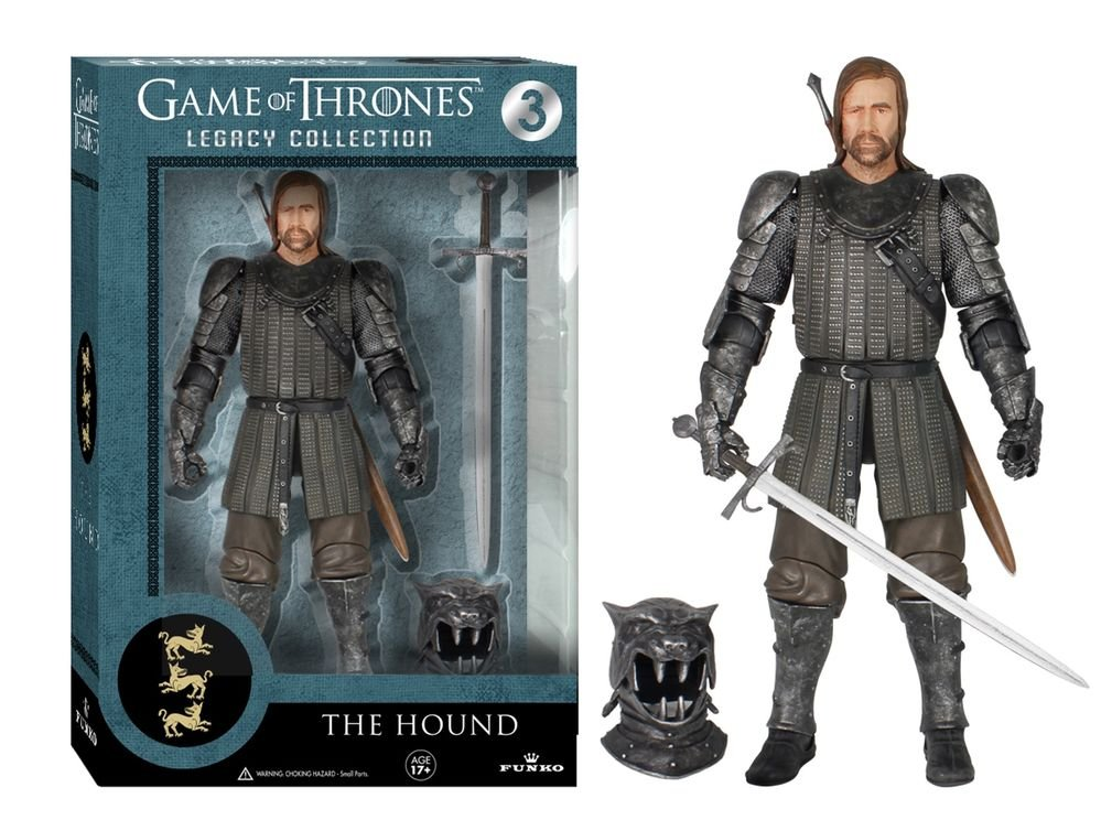GAME OF THRONES LEGACY EDITION - THE HOUND ACTION FIGURE