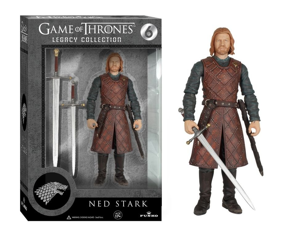 GAME OF THRONES LEGACY EDITION - NED STARK ACTION FIGURE