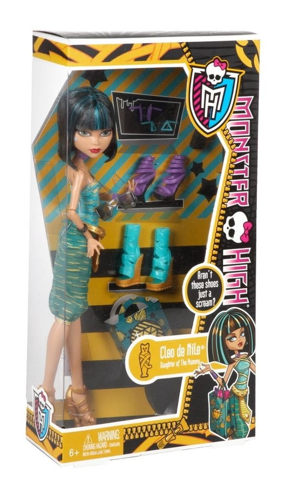 Monster High Cleo de Nile Doll & Shoe Collection DOLL