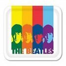 BEATLES  - RAINBOW SILHOUETTE SERVING TRAY