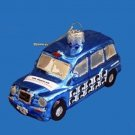 BEATLES  LET IT BE LONDON TAXI GLASS ORNAMENT