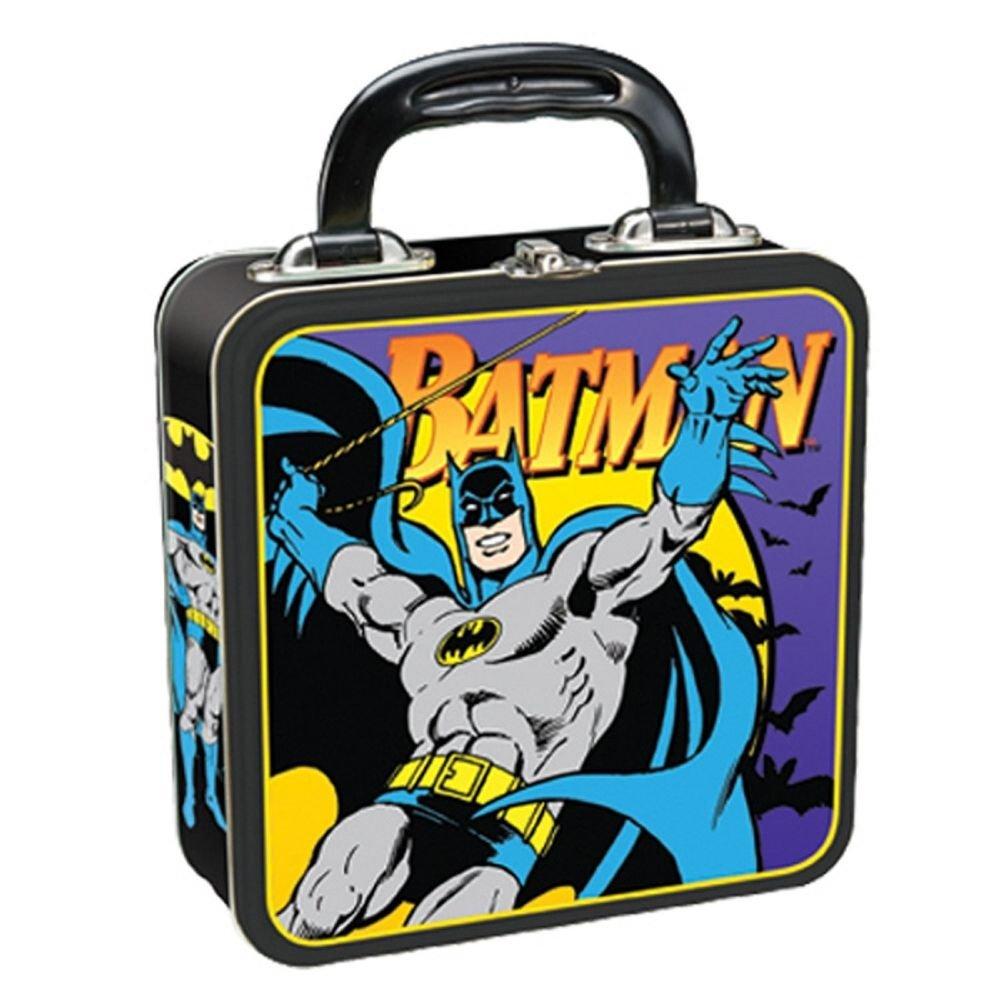Batman Square Tin Tote, Multicolored  by Vandor