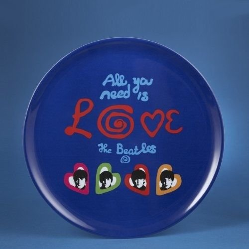 """BEATLES - BEATLES ALL YOU NEED IS LOVE 14""""  ROUND TRAY"""