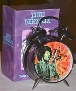 JIMI HENDRIX ARE YOU EXPERIENCED TWIN BELL ALARM CLOCK
