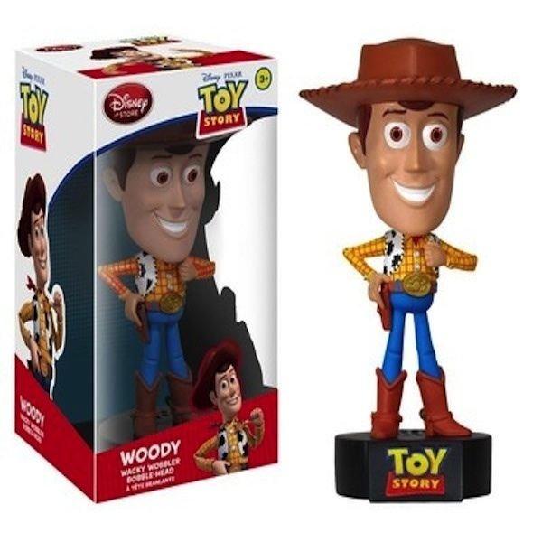 Disney Toy Story Woody Talking Wacky Wobbler Woody by Funko