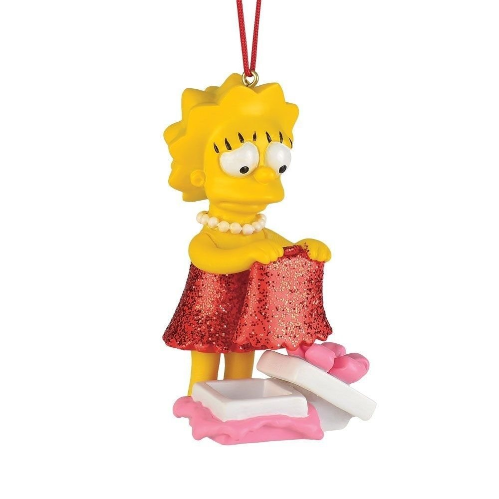 SIMPSONS-LISA'S NEW DRESS ORNAMENT BY DEPT. 56