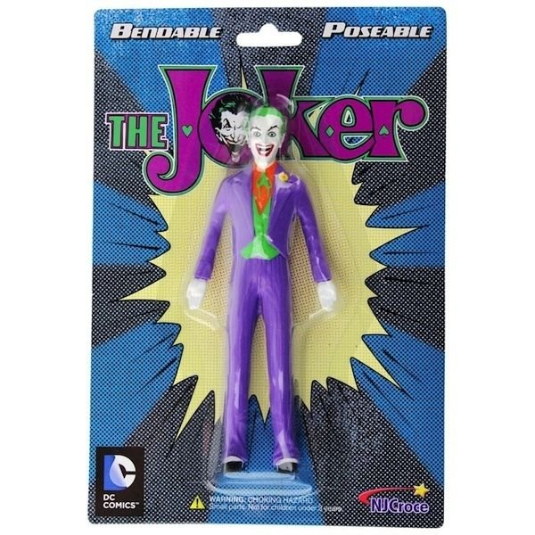 DC-JUSTICE LEAGUE THE JOKER BENDABLE FIGURE