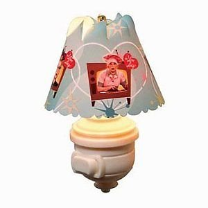 I Love Lucy Spin Shade Night Light by Vandor
