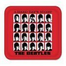 BEATLES - A HARD DAYS NIGHT RED SERVING TRAY