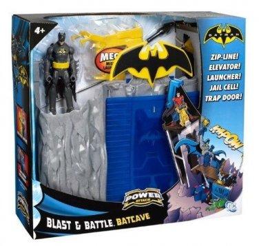 BATMAN POWER ATTACK BLAST AND BATTLE BATCAVE PLAYSET
