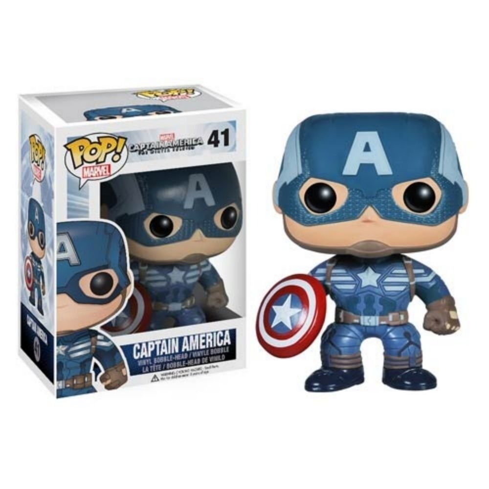 CAPTAIN AMERICA 2 WINTER SOLDIER POP VINYL BOBBLE-HEAD