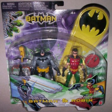 BATMAN & ROBIN SET OF (2) ACTION FIGURES