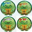"""Teenage Ninja Mutant Turtle Beanie Ballz 5"""" Complete Set of 4 Plush"""