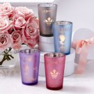 FRENCH VICTORIAN SET OF 4 SILHOUETTE TEALIGHT CANDLE HOLDERS