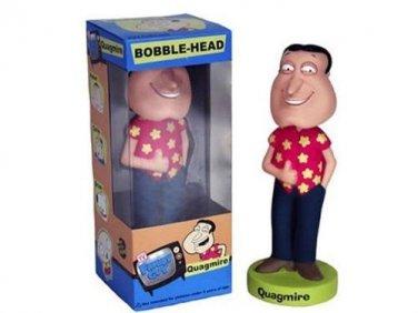FAMILY GUY-QUAGMIRE WACKY WOBBLER RED SHIRT BOBBLE HEAD