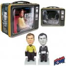 TWILIGHT ZONE PASSENGER & STAR TREK CAPTAIN KIRK SET OF 2 MINI MATES
