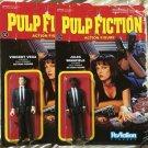 Pulp Fiction-Jules & Vincent Set of 2 ReAction 3 3/4 Inch Action Figures