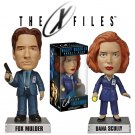 X-FILES-Mulder & Scully Set of 2 Bobble Heads