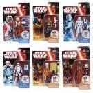 Star Wars VII -  Snow Desert Wave 2 Set of 6 pieces Action Figures