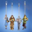 Wizard of OZ Set of 4 Clip Ornaments