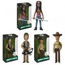 Walking Dead - Set of 3 Rick, Daryl, & Micchone Vinyl Idolz Figures