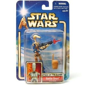 Star Wars - Attack of the Clones Battle Droid Action Figure
