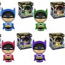 Batman - Batman 75th Anniversary Set of 6 Rainbow Dorbz
