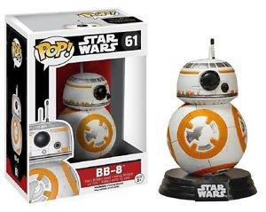 Star Wars 7: The Force Awakens BB-8 POP! Bobble Head Vinyl Figure