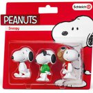 Peanuts -  Snoopy Set of 3 Vinyl Figures