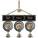 Downton Abbey Trio Pull Bell Ornament
