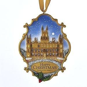Downton Abbey 'Happy Christmas' Resin Castle Ornament