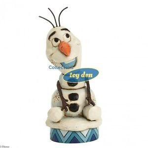 "Disney - Showcase Collection OLAF ""Silly Snowman"" Figurine designed by Jim Shore"