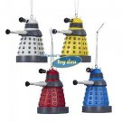 Dr. Who - Doctor Who Daleks set of 4 Ornaments in Gift Box