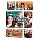 Wizard Of Oz - 6 piece Boxed Magnet Set