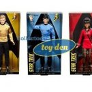Barbie Collector Star Trek 50th Anniversary: Kirk, Uhura, Spock Set of 3 Dolls