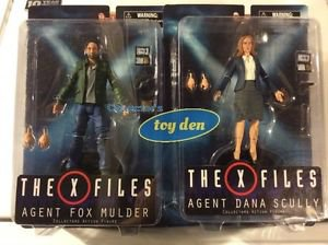 X-FILES - Mulder & Scully Set of 2 Diamond Select Action Figures