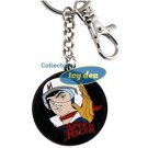 Speed Racer - Speed Round Enamel Keychain