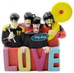 Beatles - Yellow Submarine Sergeant Pepper Band LOVE Ornament
