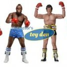 "Rocky- 40th Anniversary Series 1 Rocky III set of 4 pieces 7"" Action Figures"