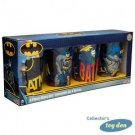 DC Comics - Batman Set of 4 pieces pint size 16oz. Glasses in Gift Box